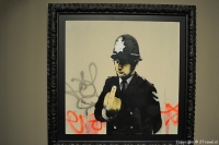 'Rude Copper' van Banksy in  het Moco Museum in Amsterdam / Copyright © JTravel.nl